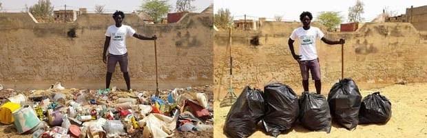 Clean Up Challenge : la conscience écologique en mouvement au Sénégal