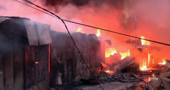 Dernière minute : Incendie grave au marché central de Tambacounda