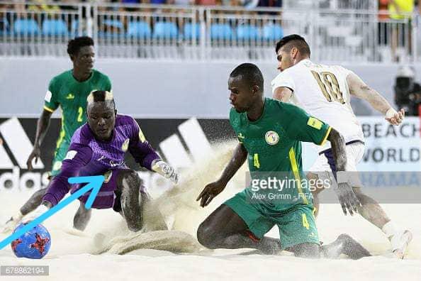 Décès du deuxième gardien des Lions un Beach Soccer