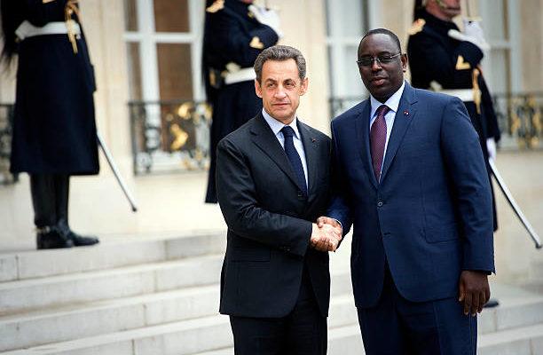 Sarkozy à l'investiture de Macky  SALL