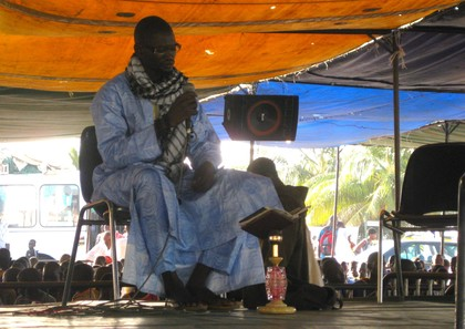 Ndiasse Gueye, recitateur de Coran