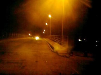 Des jets de fumée créent la panique sur le Pont de Gueth Ndar