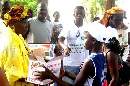 Don de 25 tables-bancs : La Caritas récompense le dynamisme de la MERERUE