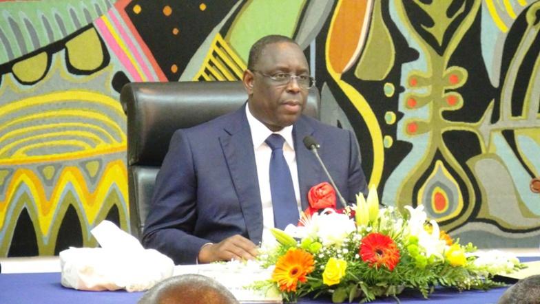 """Macky Sall recadre un député : """"Ne me parlez pas de 3e mandat"""""""