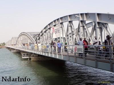 Le Pont Faidherbe sera inauguré le 24 octobre par le président Wade