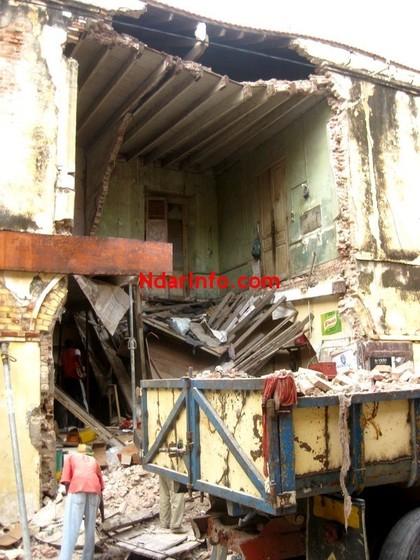 Patrimoine : un immeuble tombe au quartier Sud