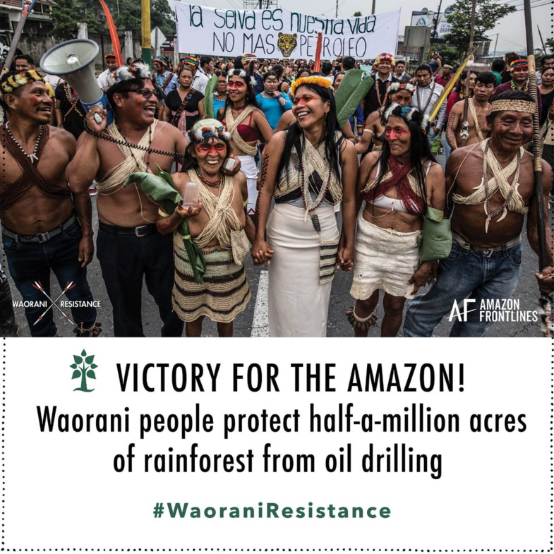 Équateur : victoire des indiens Waorani contre l'exploitation de pétrole