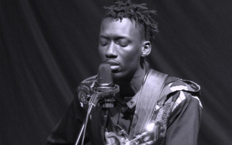 Saint-Louis : Tex, un jeune artiste de Guet-Ndar sur la scène du festival de jazz