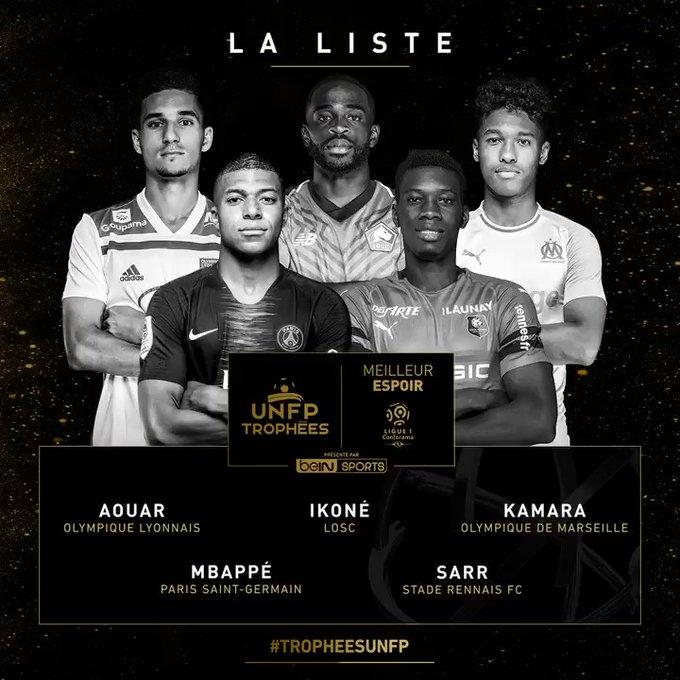 Trophées UNFP : Ismaila Sarr nominé pour le titre de meilleur espoir de la Ligue 1