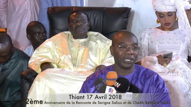 """Serigne Saliou Thioune, fils aîné de Cheikh Béthio: """" C'est une cabale contre père..."""""""