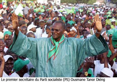 """Candidat de """"Benno"""" : les socialistes de Saint-Louis proposent Ousmane Tanor Dieng"""