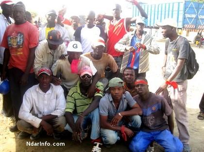 Grogne des travailleurs du stade de Médine confié aux chinois : Magouille, surexploitation et'' deal sombre'' freinent  le chantier.