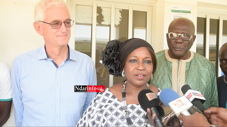 Une convention collective dans le secteur de l'agriculture : le vœu d'Innocence Ntap NDIAYE (vidéo)