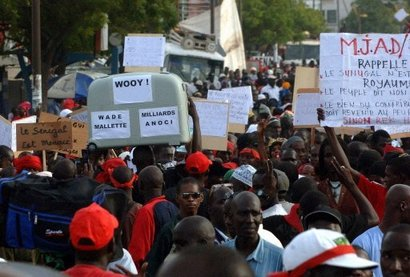 Marche du collectif des terres de Fanaye, ce vendredi
