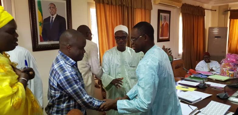 SAED : Amadou THIAM nommé directeur général adjoint (photos)