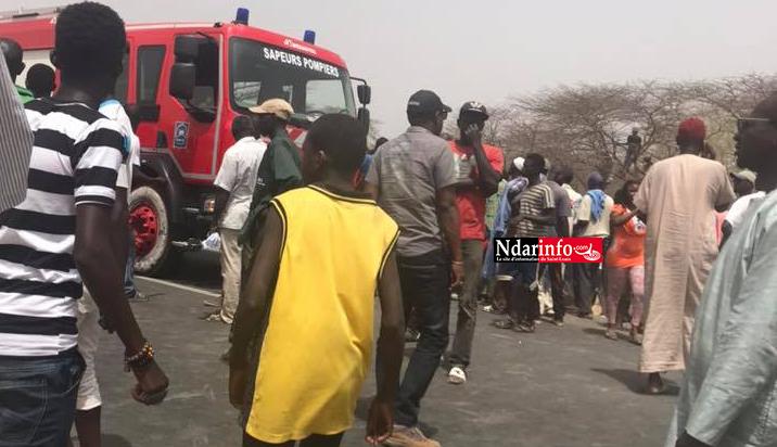 Accident à NDIALAM : le bilan s'est alourdi