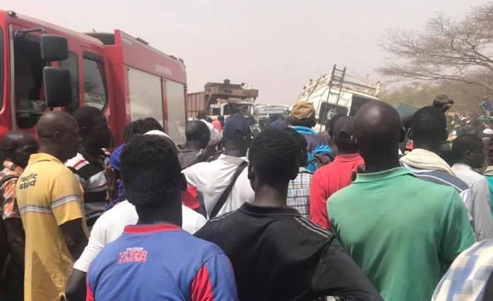 Accident de NDIALAM : le bilan grimpe à 12 morts