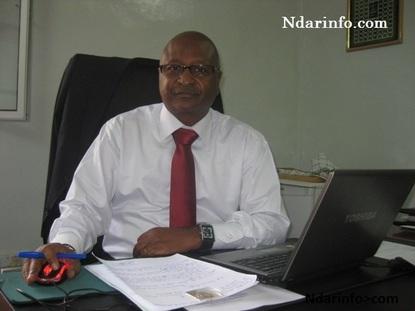 Monsieur Huchard, délégué régional de la Senelec
