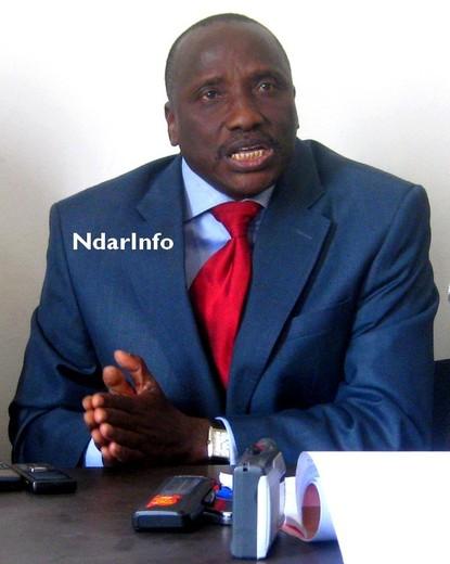 ''Saint-Louis regrette Ousmane Masseck'' soutient Thiamba Seck, en conférence de presse ce samedi