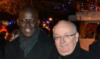 Cheikh Bamba Dièye, invité à la parade du Festinoël