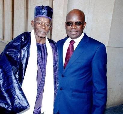 Feu Madické Diakhaté dit ''collot'' et le Colonel Moumar Gueye