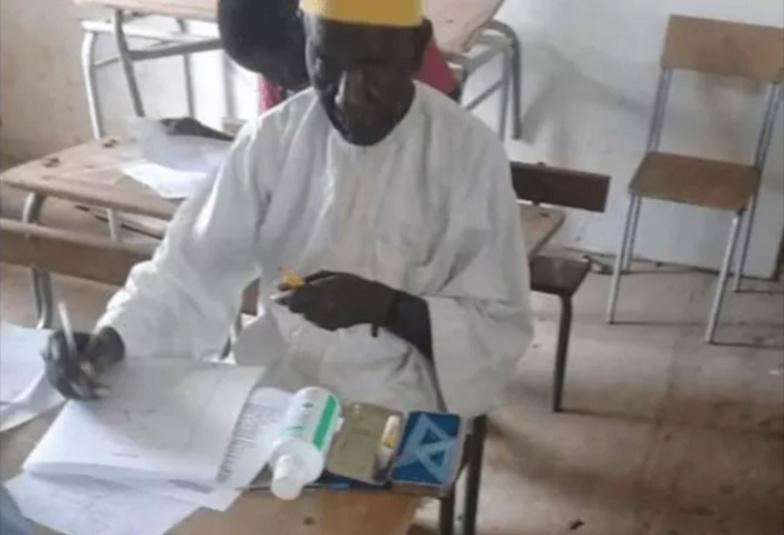 Tambacounda: à 72 ans Ibrahima Amadou Sy décroche son BFEM