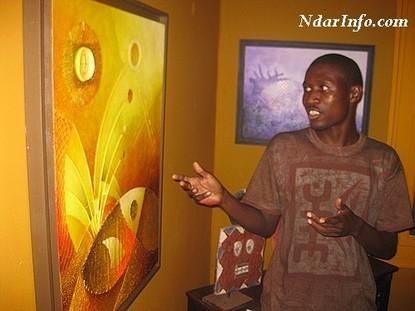 Saint-Louis : Le peintre Abdou Karim Fall note ''le peu d'engouement'' pour les arts plastiques