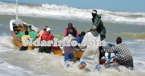 Goxumbacc:  03 pécheurs disparus: Leur famille fera le deuil cette semaine