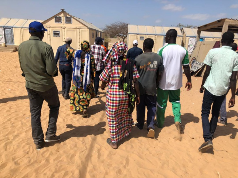 DIOUGOB : Une mission de la Banque mondiale et de l'ADM a rendu visite aux sinistrés (photos)