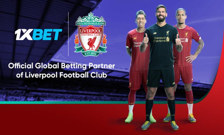 Le Liverpool Football Club vient de signer un partenariat avec 1xBet