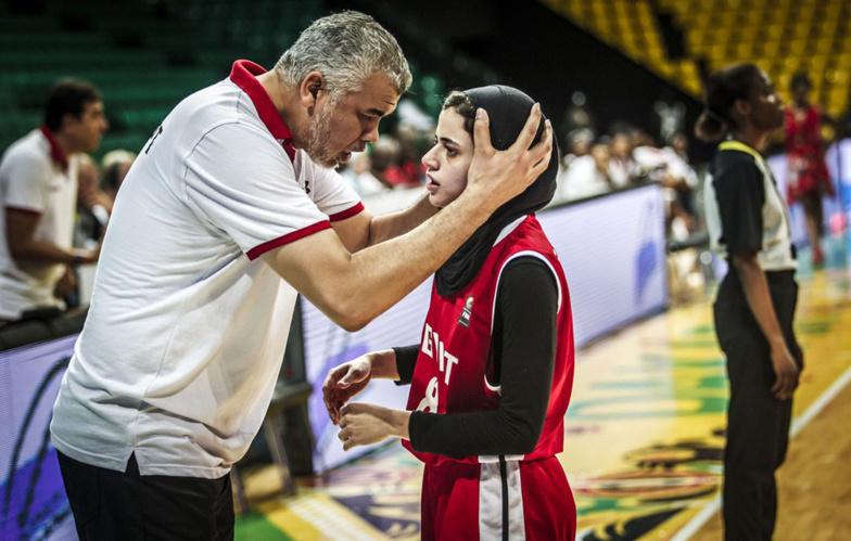 Afrobasket 2019 Dames : Soraya qualifie l'Égypte en quart de finales.