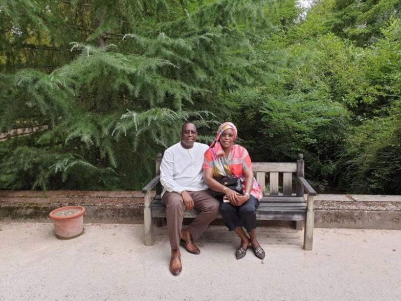 [ARRÊT SUR IMAGE] Macky et Marième Faye Sall en vacances dans le sud de la France