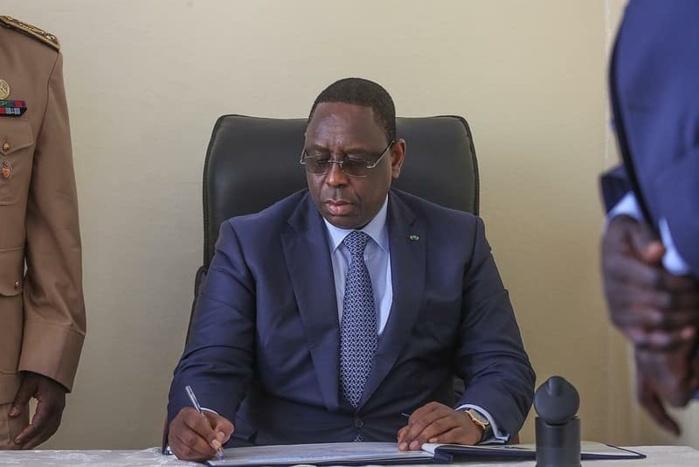 Macky Sall réorganise les Services de renseignements