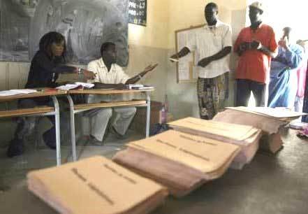 Cinq millions 103 mille 297 électeurs inscrits sur le fichier électoral