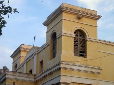La cathédrale de Saint-Louis est la plus ancienne église d'Afrique de l'Ouest.