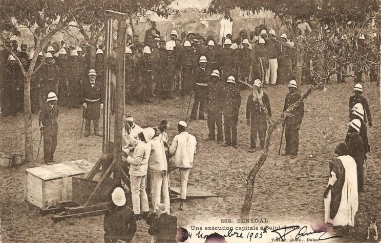 Exécution capitale de Birame Kandé, le 25 février 1899 à Saint-Louis