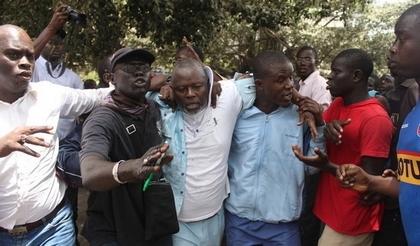 Mouhamadou Seck, le coordonnateur de la Raddho à Saint-Louis se dit indigné par l'arrestation d'Alioune Tine.