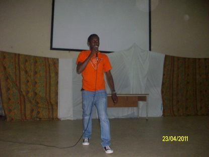 Papa Moussa Faye, un poète sur les planches.