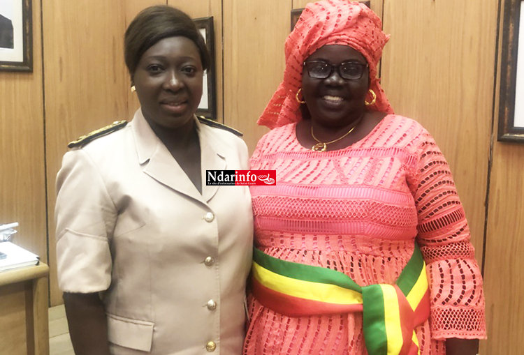 7e adjointe au maire : Fatou DIOUF remplace feu Balla GUÈYE