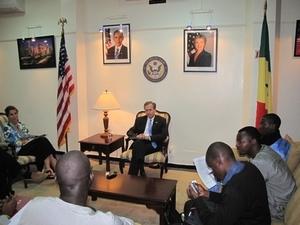 Lewis Lukens, Ambassadeur des Usa à Dakar: ''les Etats-Unis ne choisissent pas les dirigeants du Sénégal''