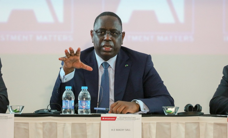 """Macky Sall: """"L'essentiel des alertes que je reçois au Sénégal sont à 90% liées au conflit foncier"""""""