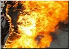 Mauritanie : Un jeune mauritanien s'immole devant le palais présidentiel