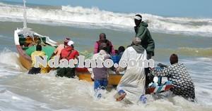 SAINT-LOUIS :4 pêcheurs d'une même famille disparaissent en mer