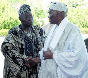 CEDEAO : Wade va rejeter l'offre d'Obasanjo de quitter le pouvoir