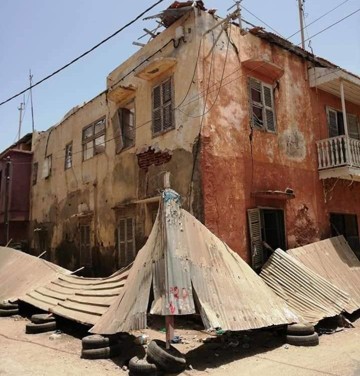 Saint-Louis du Sénégal - NDAR : Les vieilles maisons, ces blessures du temps ...