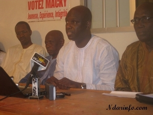 Saint-Louis- Second tour : Macky 2012 décèle les tours de passe-passe des libéraux