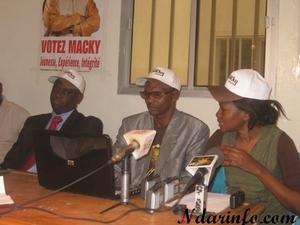Saint-Louis Présidentielle 2012 : Le M23 et Macky 2012 mutualisent leurs forces
