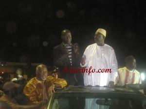 Présidentielle 2012-Second Tour : Macky Sall annonce sa victoire à Saint-Louis avec'' au minimum 65 à 70% des voix''
