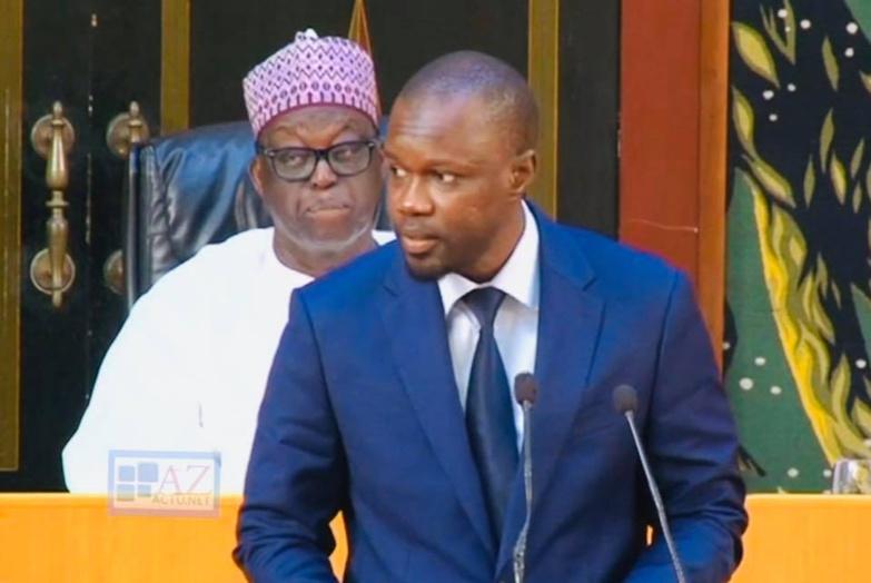 """Ousmane SONKO : """"la honte va s'abattre sur l'Assemblée nationale"""""""