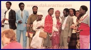 Voici Lamine Ba, Elhadji Diouf et Macky Sall en 1985 à l'université de Dakar